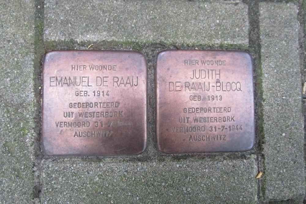 Remembrance Stones Meerhuizenstraat 1-II