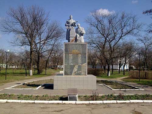 Mass Grave Soviet Soldiers Genichesk