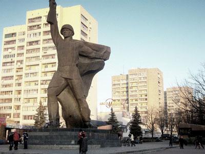 Liberation Memorial Kharkiv