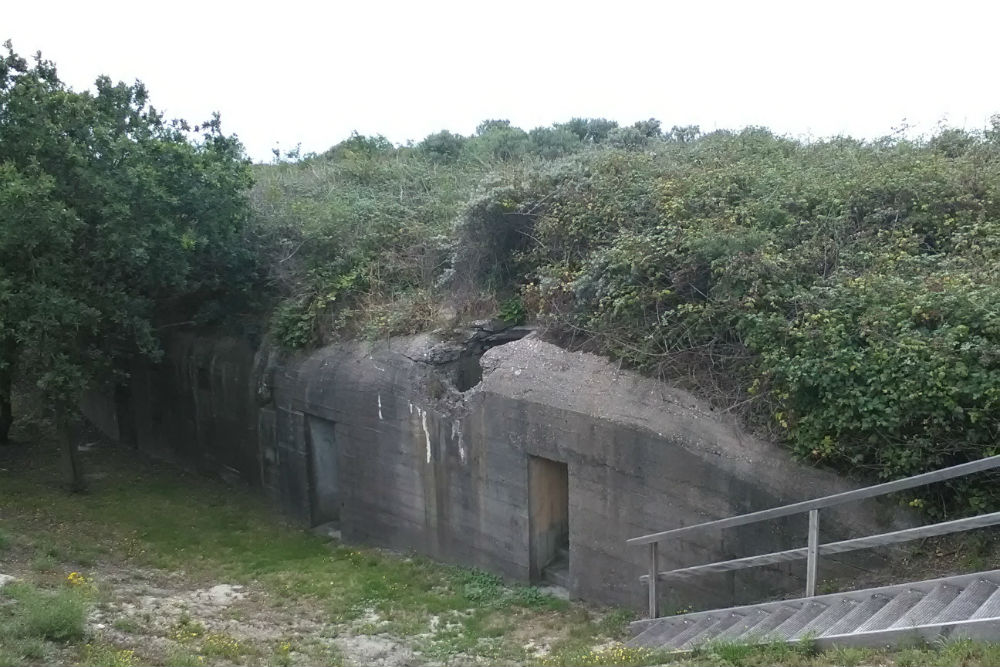 Stützpunkt Fidelio - Bunkertype 501 Dishoek