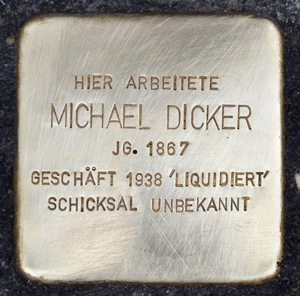 Stolperstein Sackstraße 16