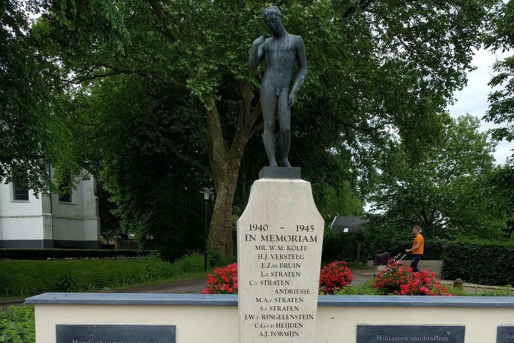 Monument voor slachtoffers WOII Enspijk bekrast; burgemeester geschokt