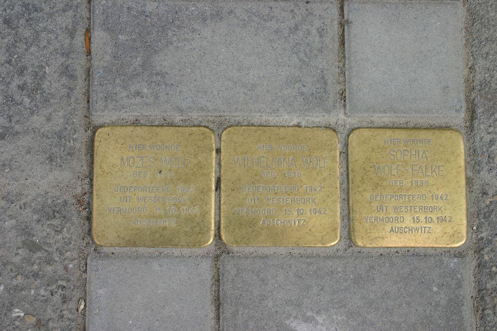 Stolpersteine Scheemderstraat 7