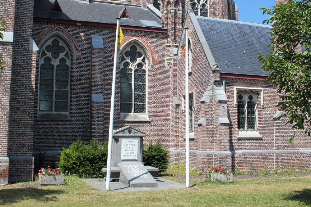 War Memorial Leffinge