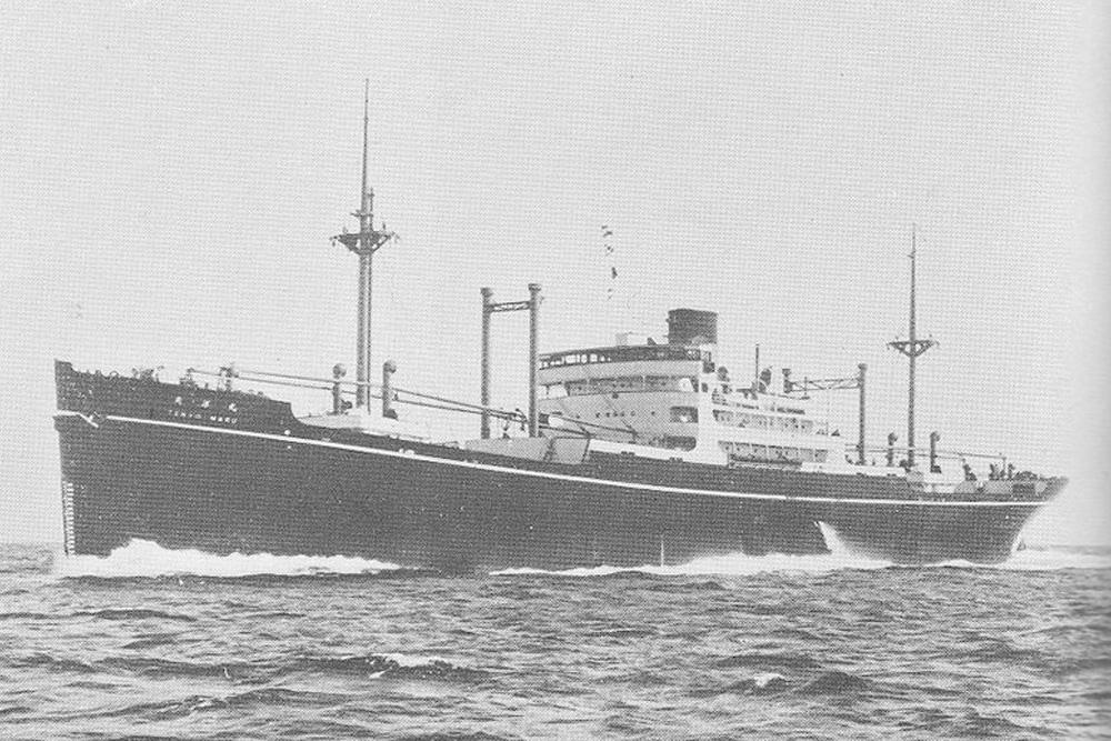 Shipwreck Tenyo Maru