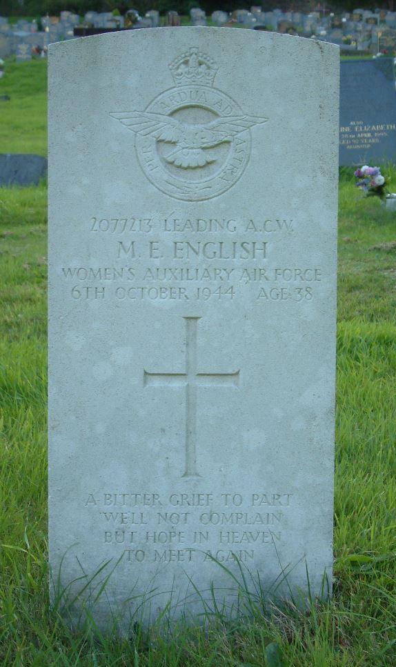 Commonwealth War Graves Danygraig Cemetery
