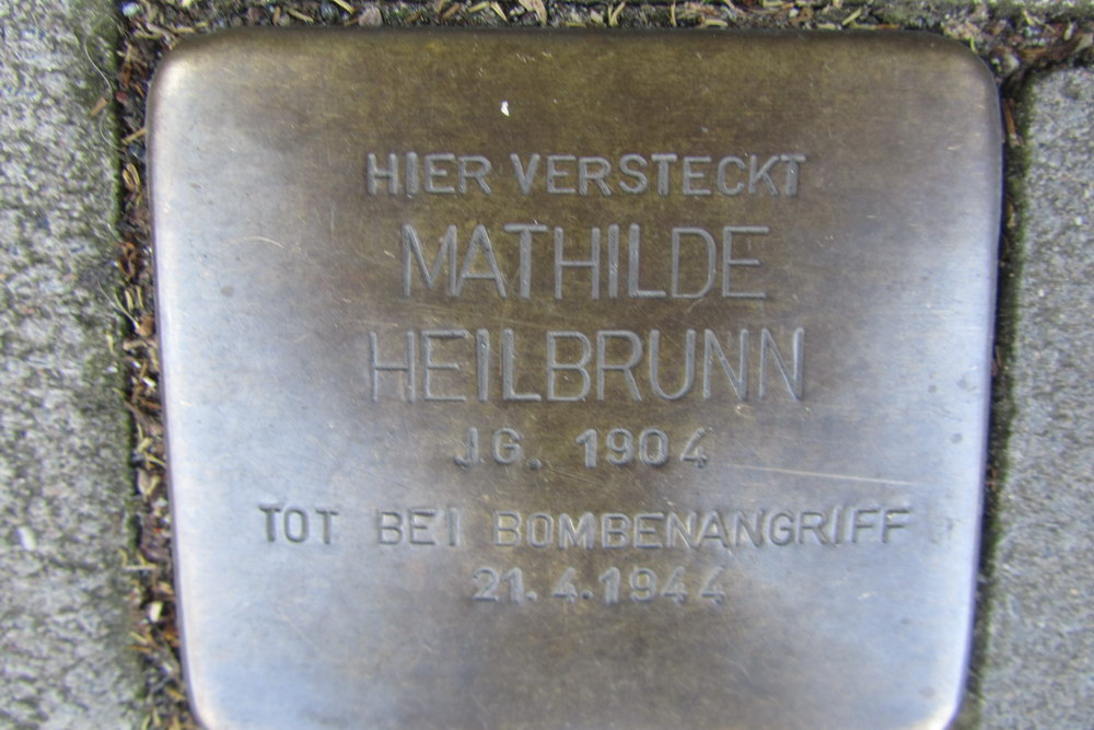 Stolperstein Erftstraße 25