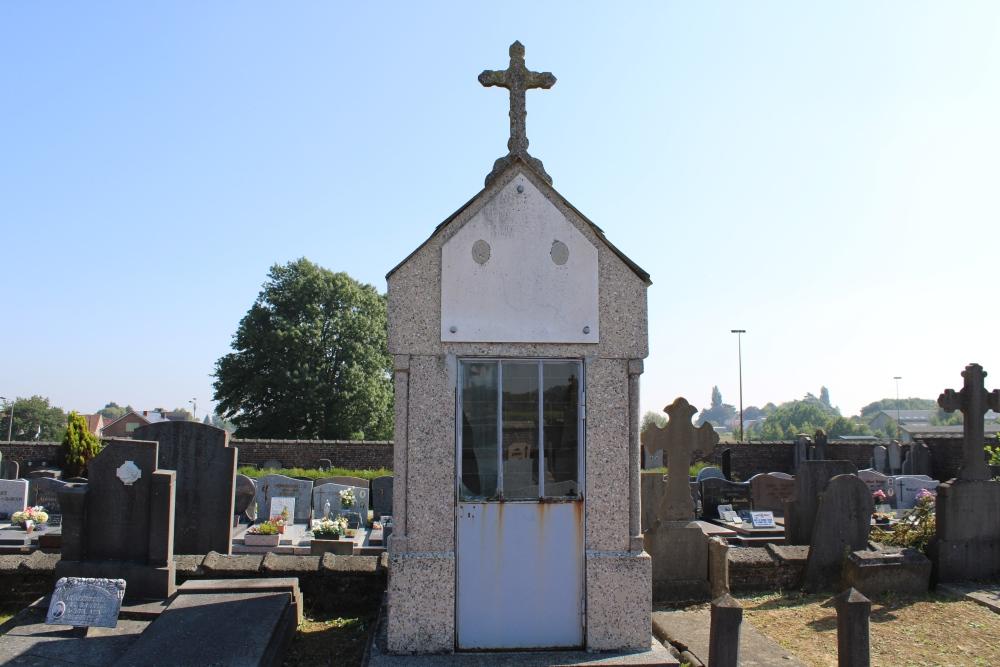 Belgische Oorlogsgraven Barry