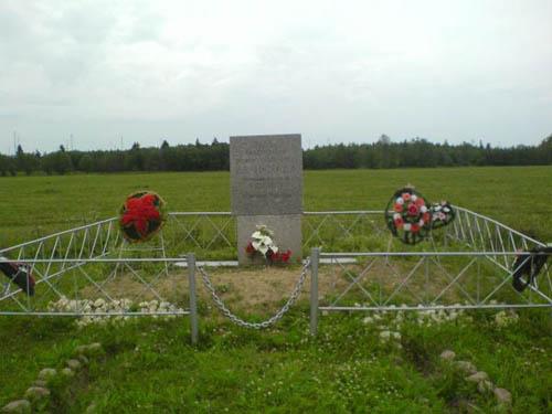 Massagraf Sovjetsoldaten Akkolovo 1941-1944