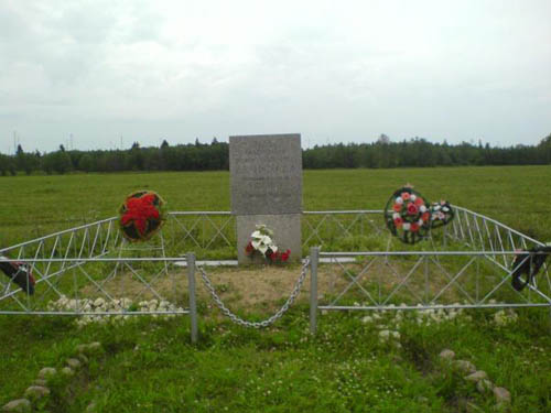 Mass Grave Soviet Soldiers Akkolovo 1941-1944