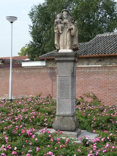 Herdenkingszuil Hesperenstraat Tilburg