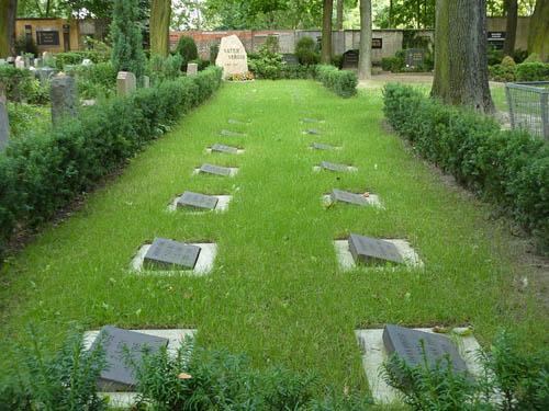 Duitse Oorlogsgraven Alter Friedrichsfelder Friedhof