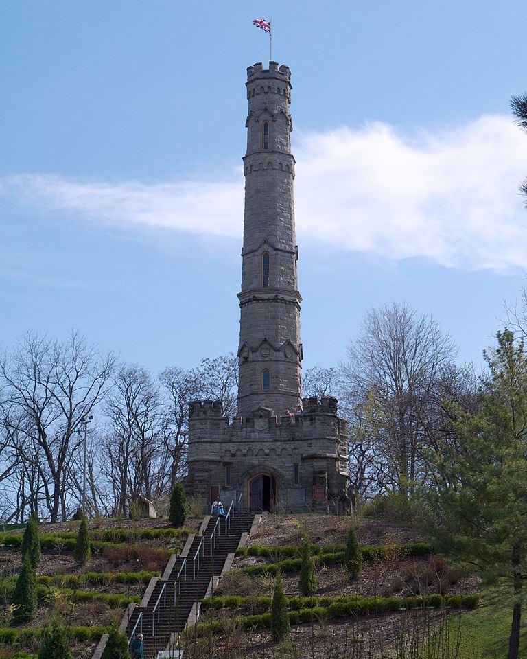 Monument Slag van Stoney Creek