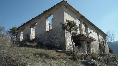 Ruin Building - Metaxas Line Ochyro