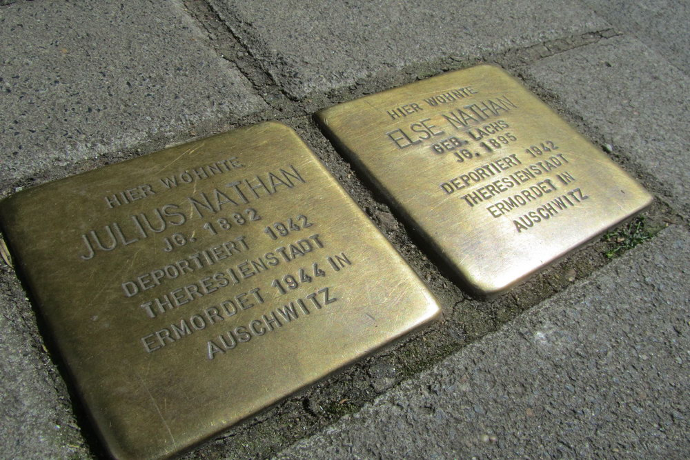 Stolpersteine Brüsseler Straße 104