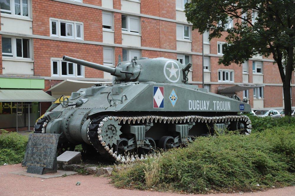 Sherman Tank Duguay-Trouhin