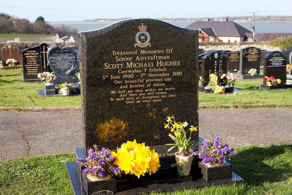 Brits Oorlogsgraf Llanfairisgaer Cemetery