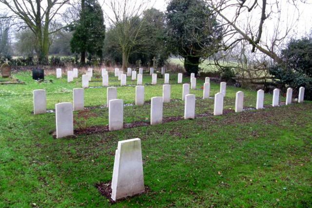 Commonwealth War Graves St. Peter Church Cemetery