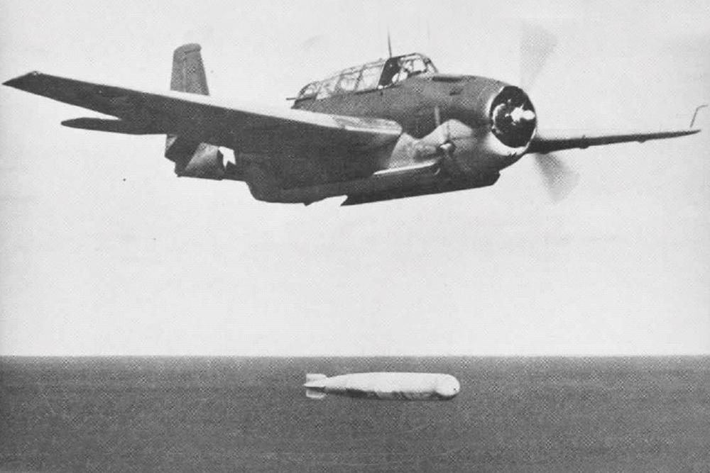 Crashlocatie & Restant TBF-1C Avenger 24264 Plane Number 102
