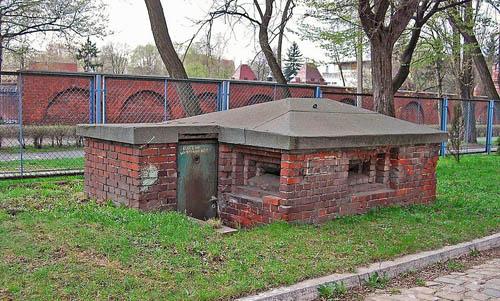 Festung Breslau - Duitse Mitrailleursnest