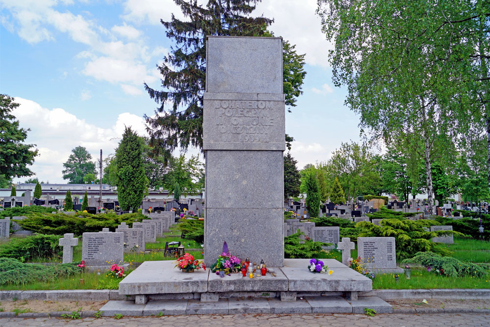 Poolse Oorlogsgraven Mani Lodz