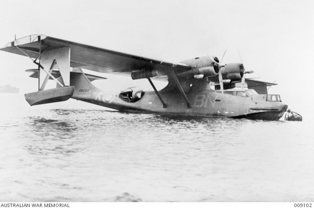 Wrakstuk PBY Catalina # A24-6 of # A24-3 (2)