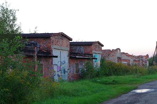 Restanten Pakhuizen Auschwitz-Birkenau