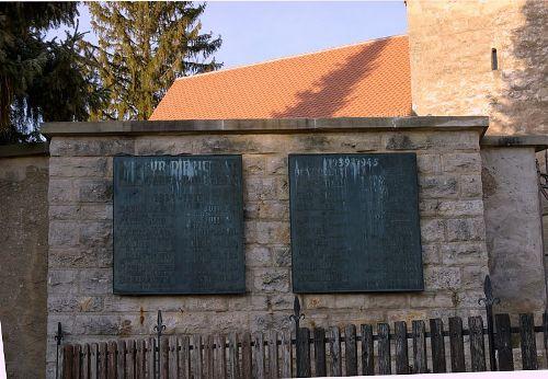 Oorlogsmonument Wernsbach