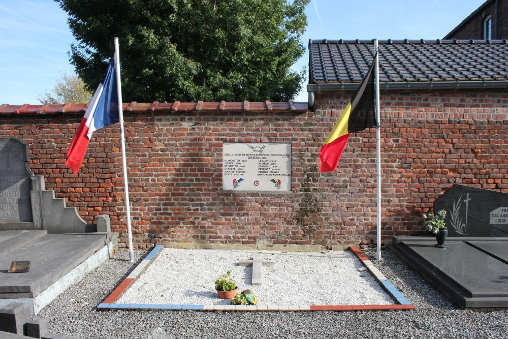 Belgian and French War Graves Crehen