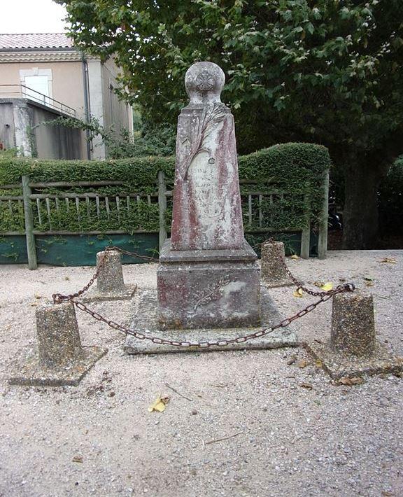 World War I Memorial Le Poët-Célard