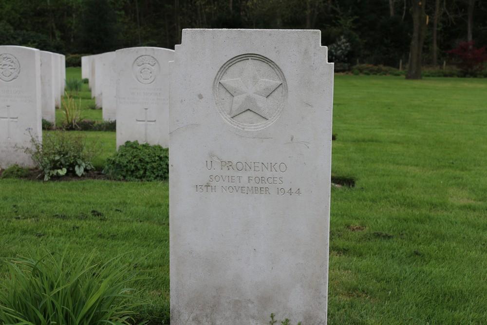 Soviet War Grave War Cemetery Jonkerbos