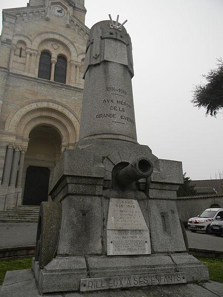 Oorlogsmonument Rillieux
