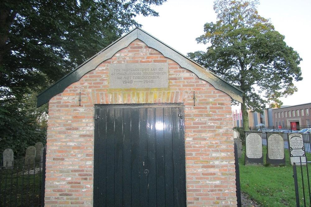 Monument Joodse Begraafplaats Steenwijk