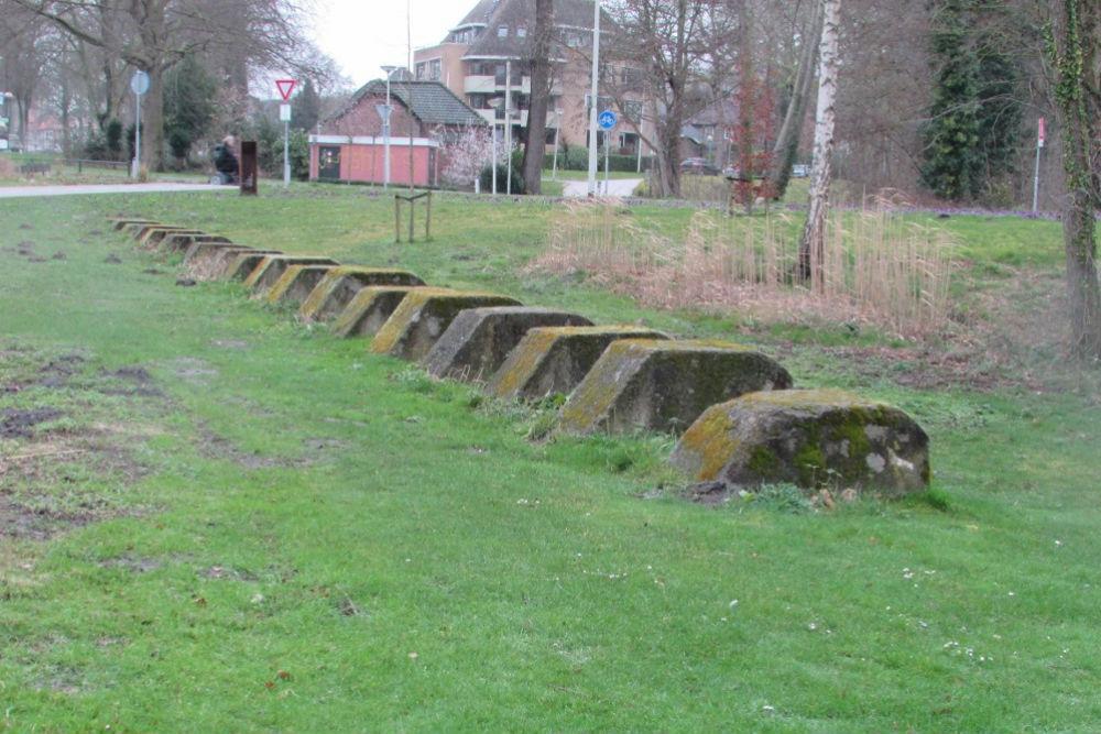 German Tank Barrier Blocks Bergen op Zoom