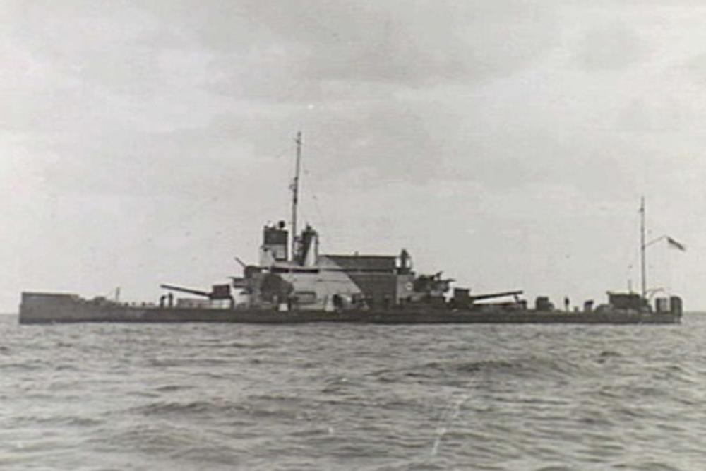 Shipwreck H.M.S. Ladybird