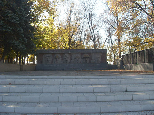 Sovjet Oorlogsbegraafplaats Oleksandrivka