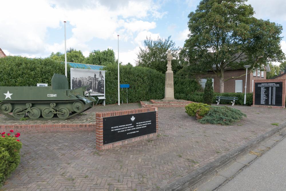 Canadees Monument 6-9 oktober 1944 Eede (Bren Carrier)