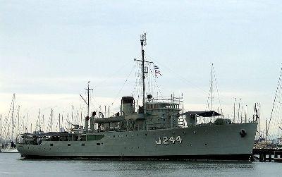 Museumship HMAS Castlemaine