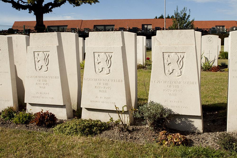 Czechoslovakian War Graves Dunkerque