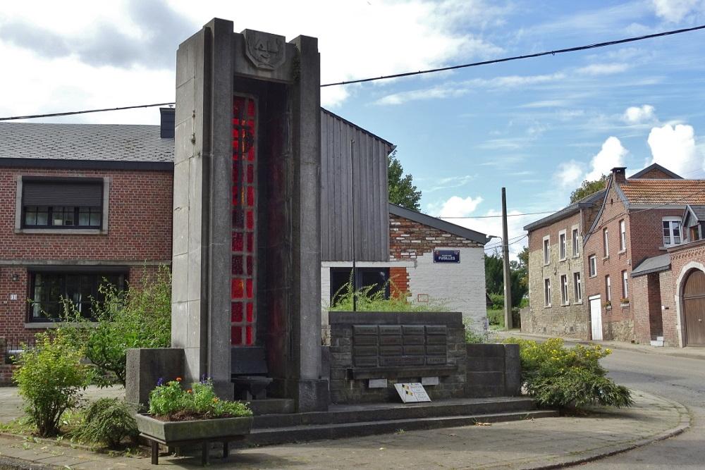Monument Bevrijdingsleger Xhavée-Rabosée