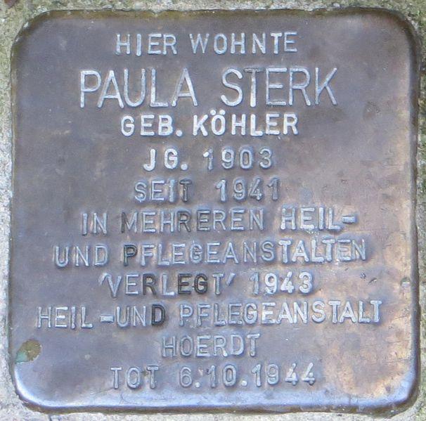 Stumbling Stone Seilerstraße 7