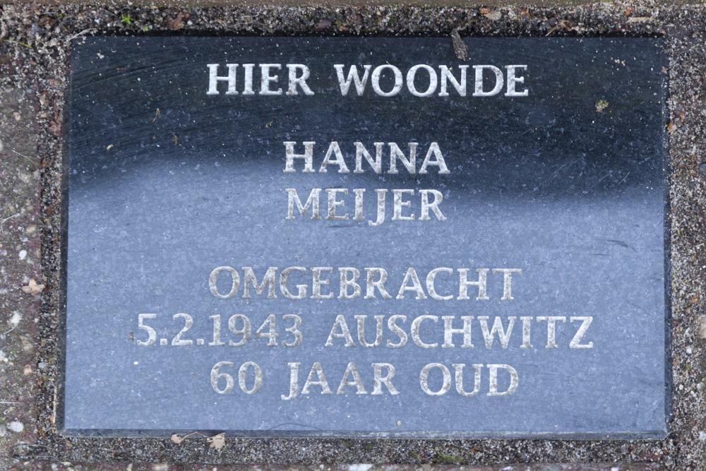 Memorial Stone Frisolaan 9