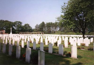 Oorlogsbegraafplaats van het Gemenebest Bergen op Zoom
