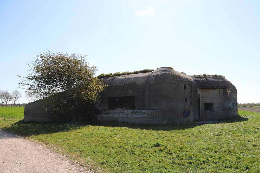 Landfront Vlissingen - Stützpunkt Kolberg - Bunker 3 type 623