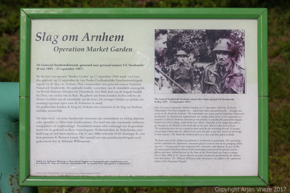 Information Panel Operation Market Garden