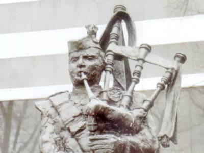 Monument De Doedelzakspeler Tilburg