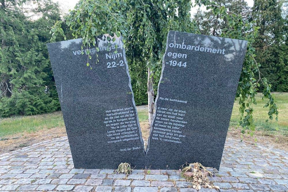 Mistake Bombing Memorial Nijmegen