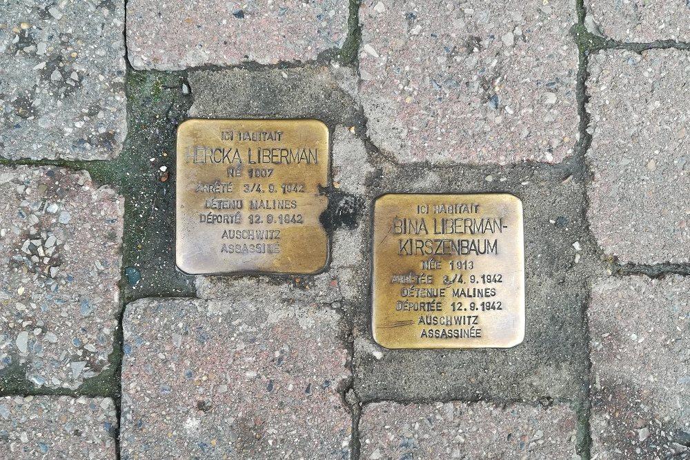 Stolpersteine Rue Théodore Verhaegen 219