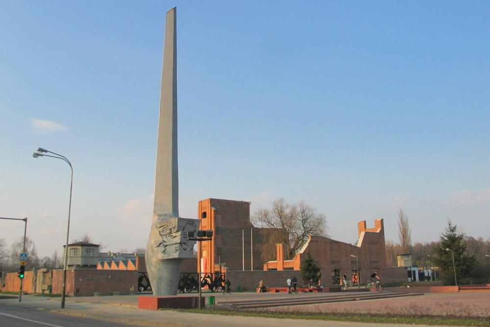 Monument Slachtoffers Radogoszcz Gevangenis