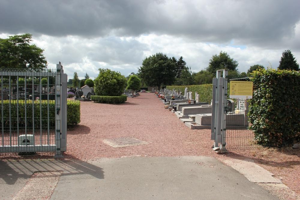 Graven Oudstrijders Nieuwe Begraafplaats Beverst